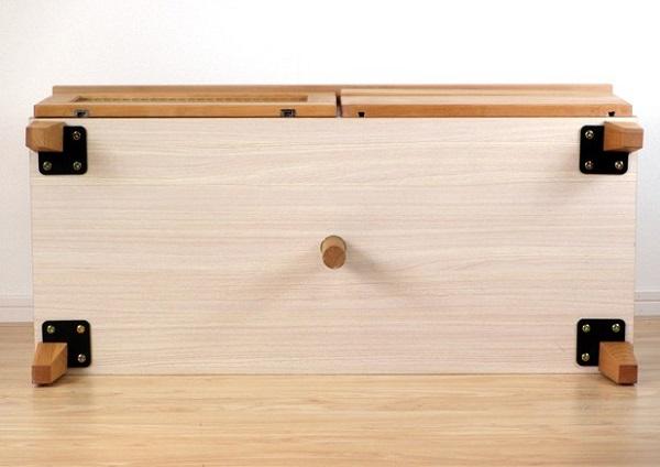 テレビボード ローボード 北欧 天然木 幅100cm